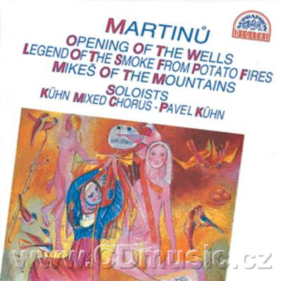 MARTINŮ B. THE OPENING OF THE WELLS H. 354, THE LEGEND OF THE SMOKE FROM POTATO FIRES, MIK