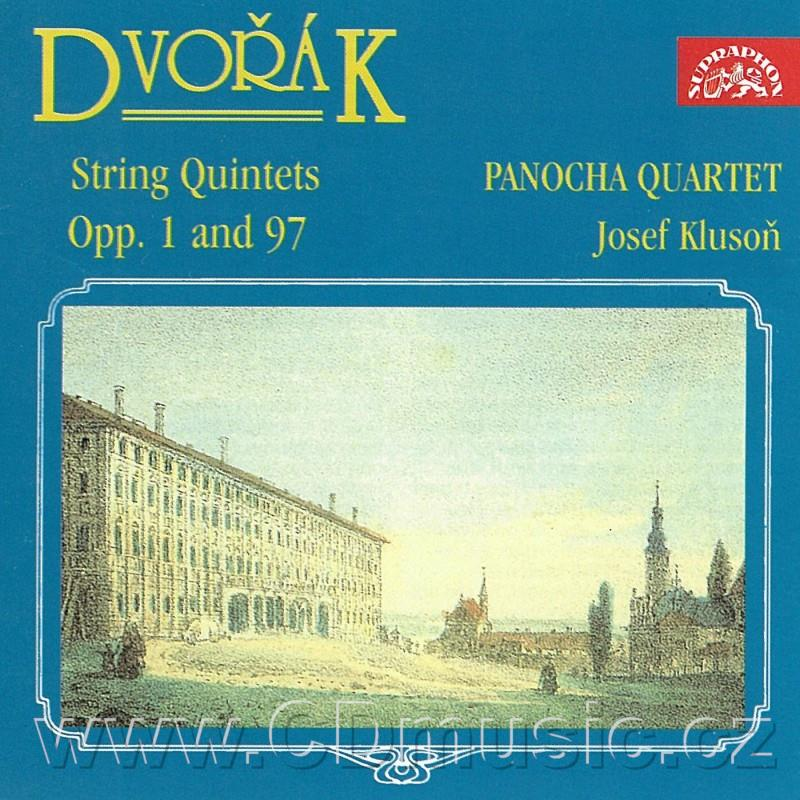DVOŘÁK A. QUINTET FOR 2 VIOLINS, 2 VIOLAS AND CELLO No.1 Op.1, QUINTET FOR 2 VIOLINS, 2 VI