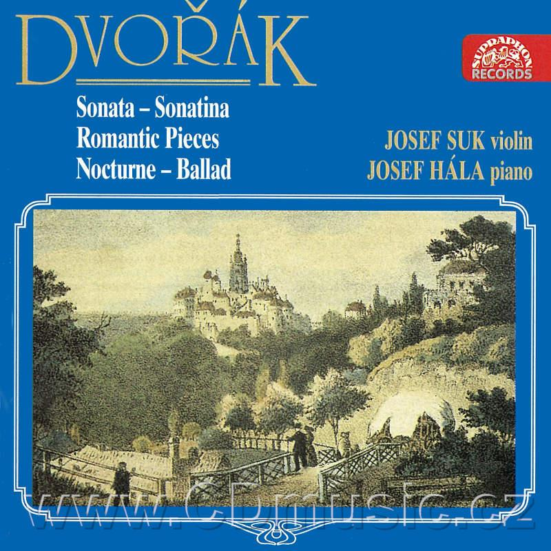 DVOŘÁK A. SONATA F MAJOR FOR VIOLIN AND PIANO Op.57, ROMANTIC PIECES Op.75, SONATINA op.10