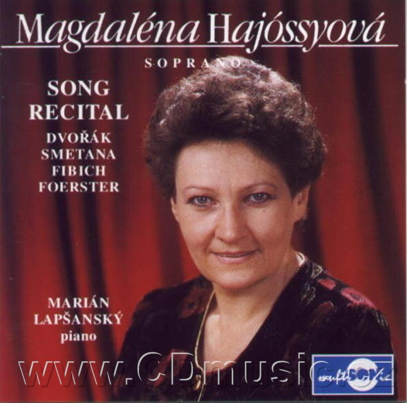 FIBICH Z. FIVE SONGS Op.5, SMETANA B. EVENING SONGS, DVOŘÁK A. IN A FOLK TONE Op.73, GYPSY