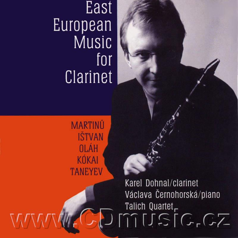 DOHNAL K. EAST EUROPEAN MUSIC FOR CLARINET / K.Dohnal clarinet (LH Promotion Rec.)