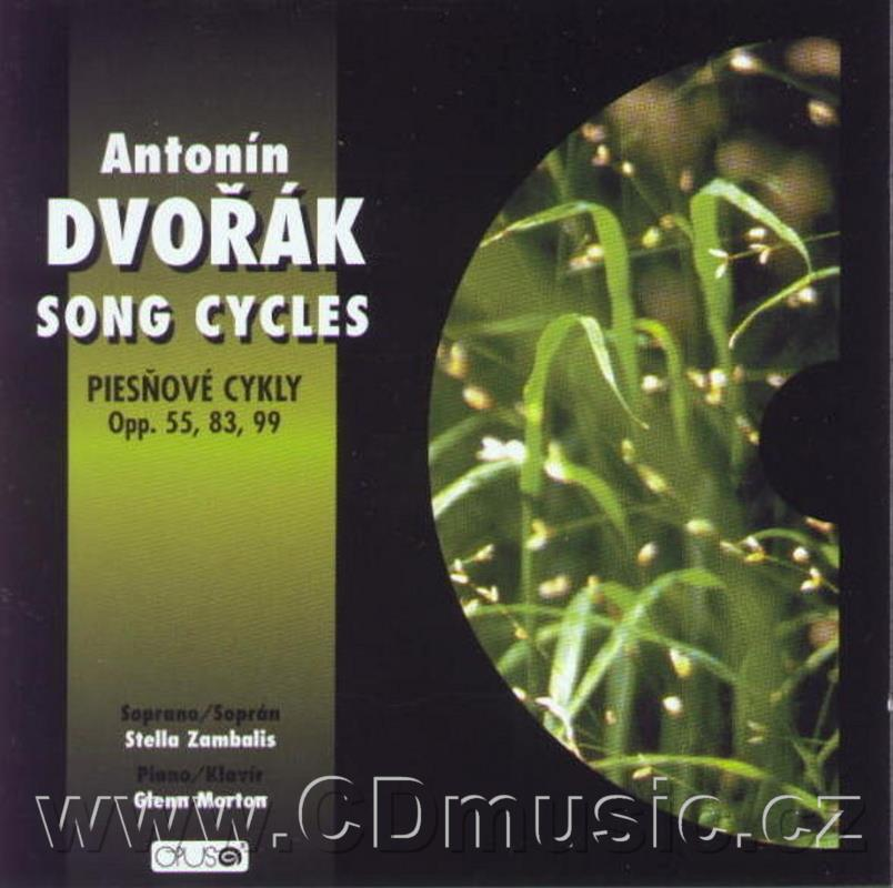 DVOŘÁK A. GYPSY SONGS Op.53, LOVE SONGS Op.83, BIBLICAL SONGS Op.99 / S.Zambalis soprano,