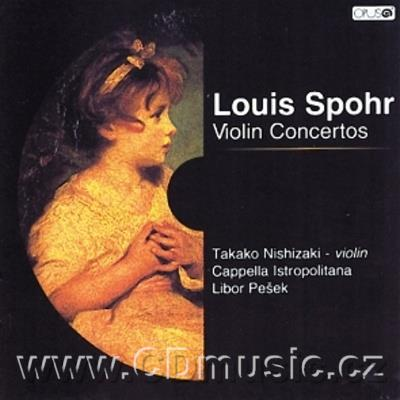 SPOHR L. (1784-1859) CONCERTOS FOR VIOLIN AND ORCHESTRA No.7 Op.38, No.12 Op.79 / T.Nishiz