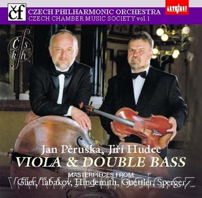 GLIER R.M. SUITE, TABAKOV E. MOTIVES FOR SOLO DOUBLE BASS, HINDEMITH P. SONATA FOR VIOLA O