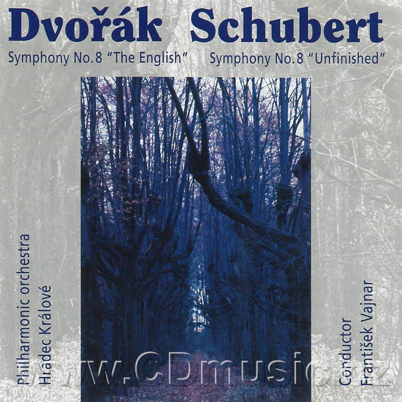 "DVOŘÁK A. SYMPHONY No.8 ENGLISH Op.88, SCHUBERT F. SYMPHONY No.8 IN H MINOR ""UNFINISHED"" /"