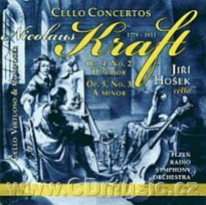 KRAFT N. (1778-1853) CONCERTO FOR CELLO AND ORCHESTRA No.2 Op.4, CONCERTO FOR CELLO AND OR