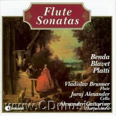 SONATAS FOR FLUTE, CELLO AND HARPSICHORD (BENDA F., BLAVET M., PLATTI G.)