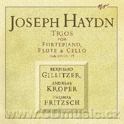 HAYDN J. Trios for Fortepiano, Flute and Cello, Hob.XV/15-17 / B.Gillitzer fortepiano, A.K