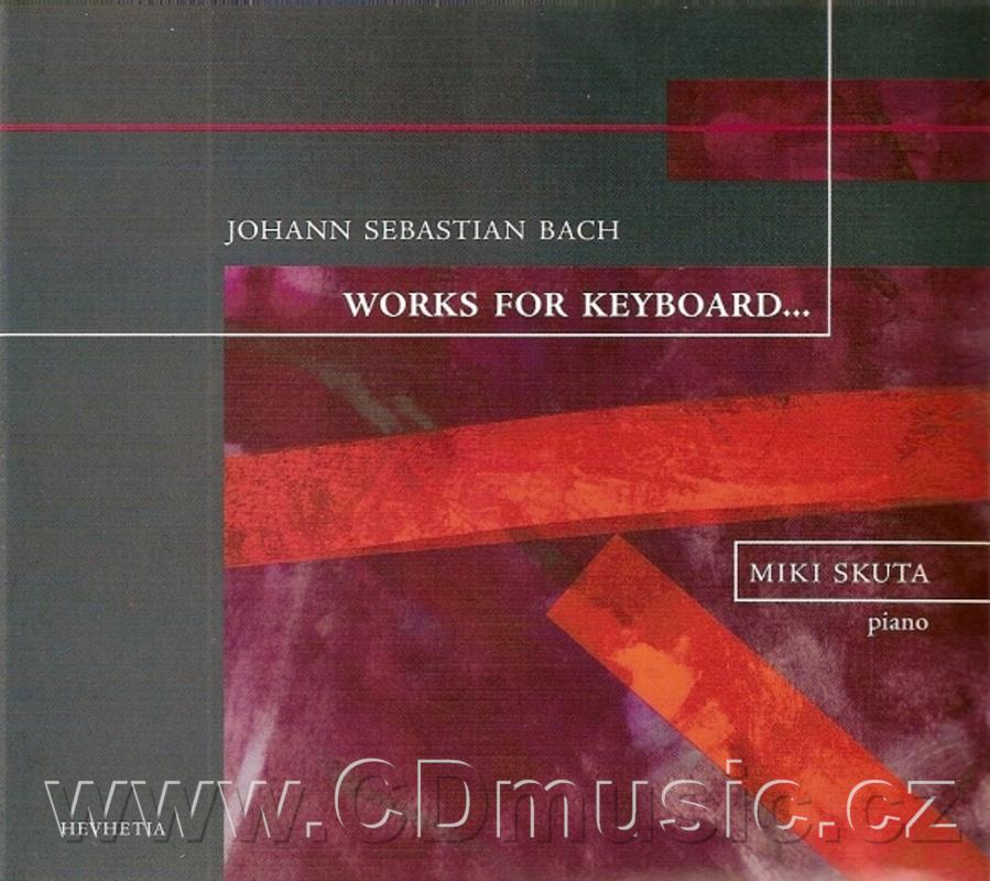 BACH J.S. WORKS FOR KEYBOARD / M.Skuta piano