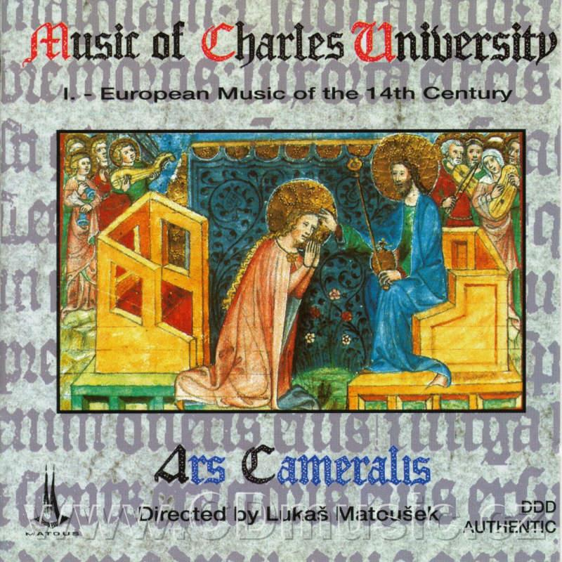 Music of Charles University I. - European Music of the 14th Century / Z.Matoušková-ms, M.B