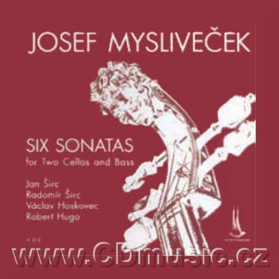 MYSLIVEČEK J. (1737-1781) SIX SONATAS FOR TWO CELLOS AND BASS / J.Širc, R.Širc cello, V.Ho