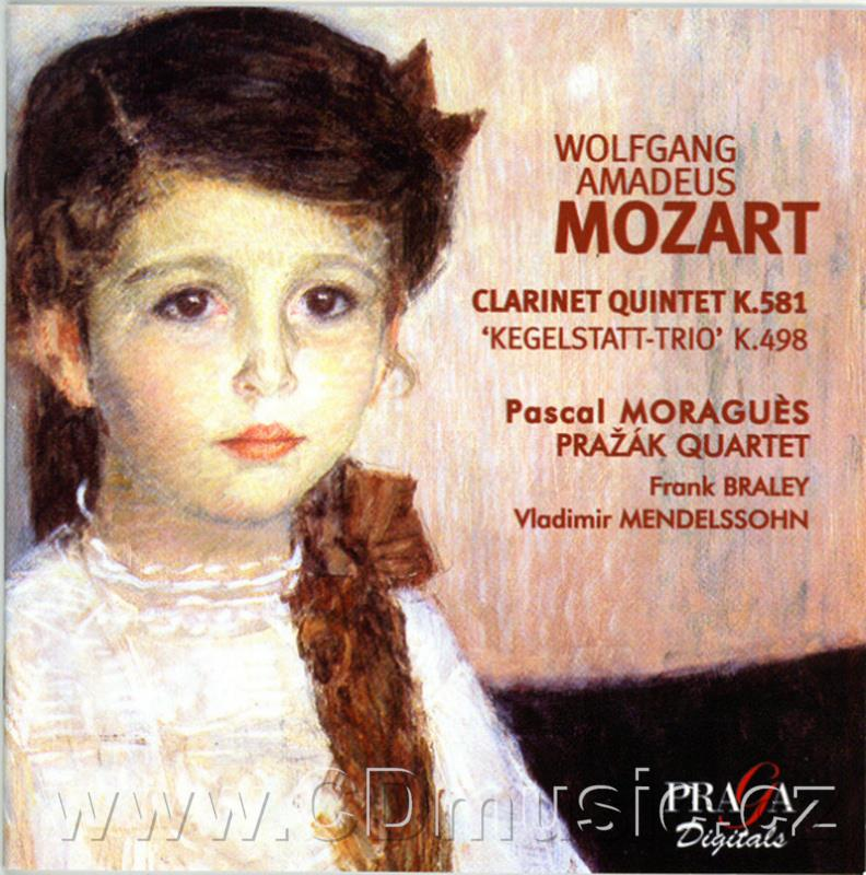 MOZART W.A. TRIO FOR CLARINET, VIOLA AND PIANO K 498, QUINTET FOR CLARINET AND STRING QUAR