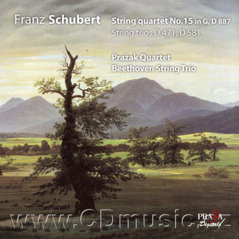 SCHUBERT F. STRING QUARTET IN G MAJOR, STRING TRIO IN B FLAT MAJOR, STRING TRIO IN B FLAT