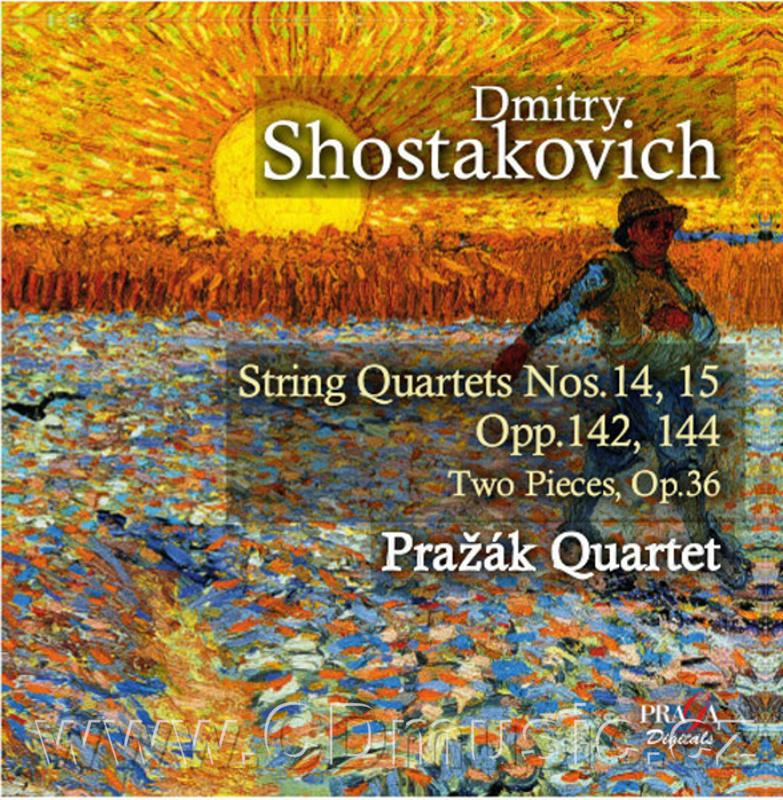 SHOSTAKOVICH D. STRING QUARTET No.14 Op.142, TWO PIECES FOR STRING QUARTET Op.36, STRING Q
