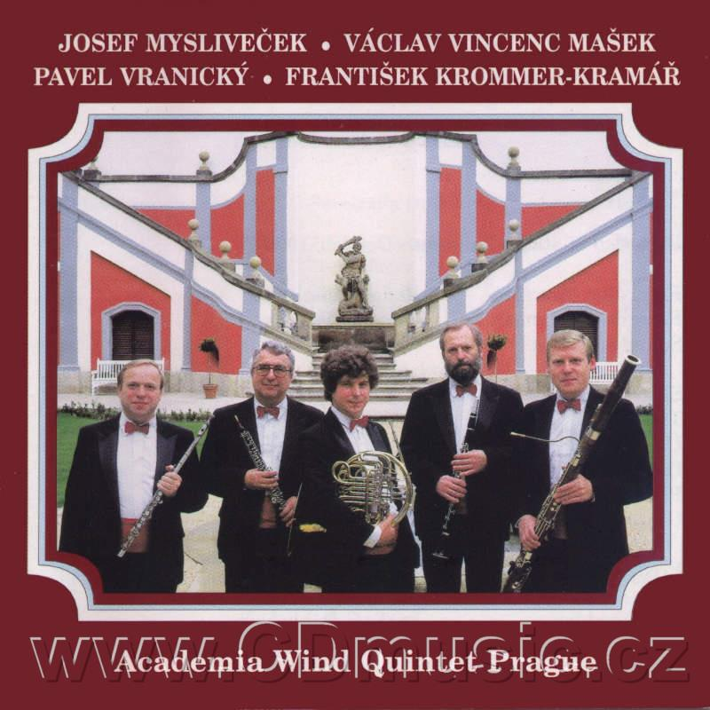 CZECH CLASSICAL MUSIC FOR WIND INSTRUMENTS (MAŠEK J., MAŠEK V.V., KROMMER-KRAMÁŘ F.)