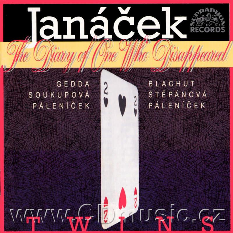 JANÁČEK L. THE DIARY OF ONE WHO DISAPPEARED / N.Gedda tenor, V.Soukupová contraalto, Pragu