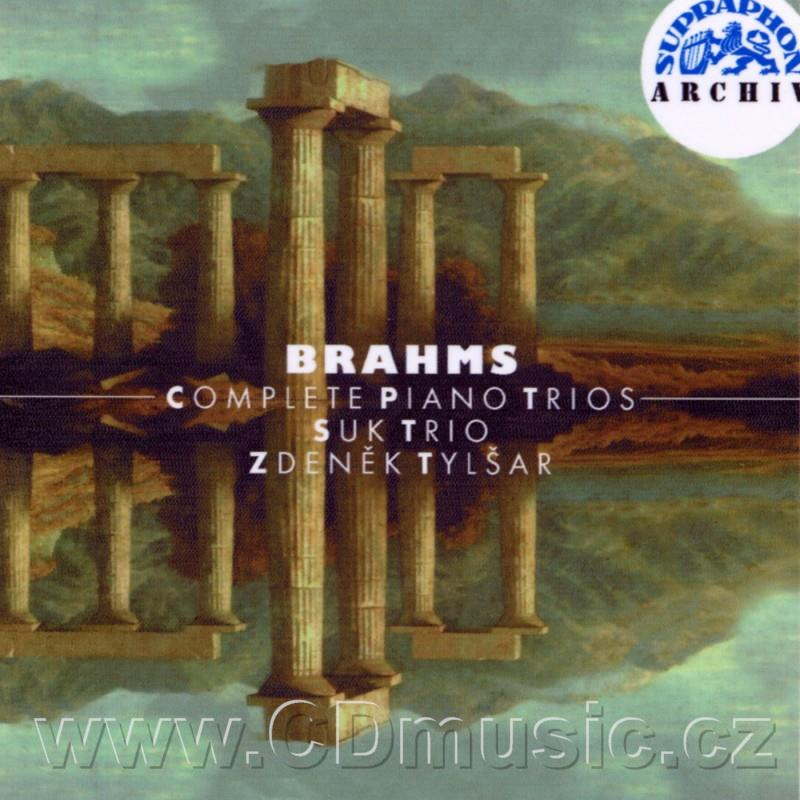 BRAHMS J. COMPLETE PIANO TRIOS - TRIO No.1, TRIO No.2, TRIO No.3, TRIO IN E FLAT MAJOR FOR