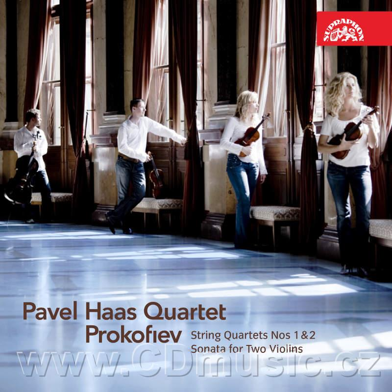 PROKOFIEV S. STRING QUARTET No.1 Op.50, SONATA FOR TWO VIOLINS Op.56, STRING QUARTET No.2