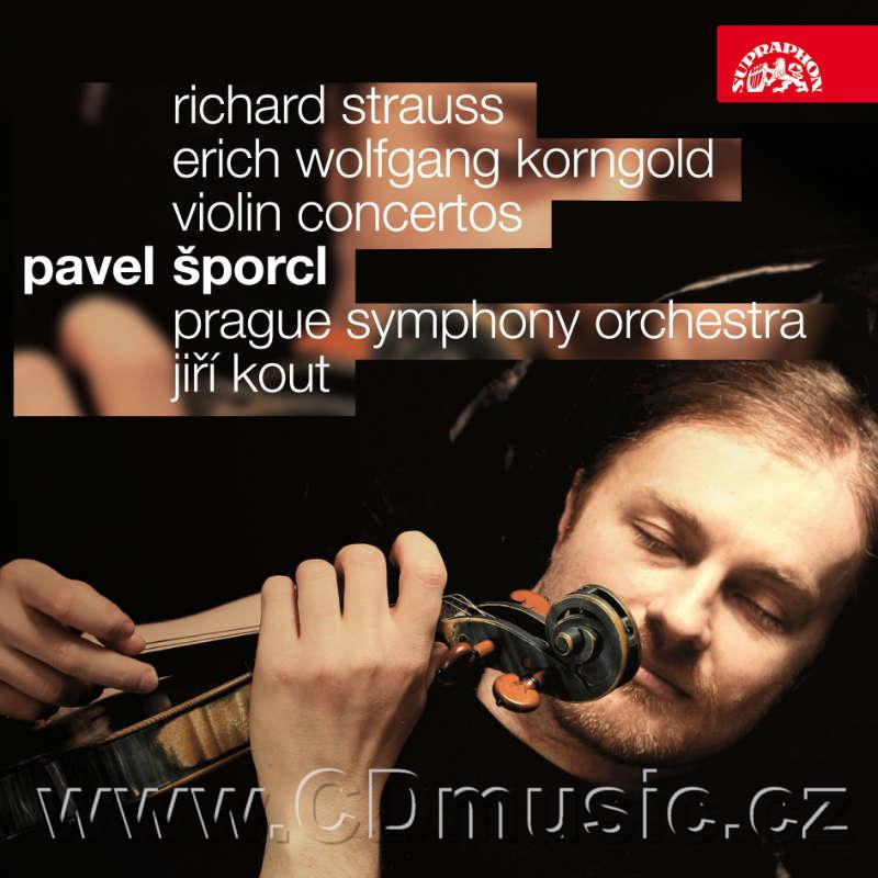 STRAUSS R. CONCERTO FOR VIOLIN AND ORCHESTRA IN D MIN Op.8, KORNGOLD E.W. CONCERTO FOR VIO