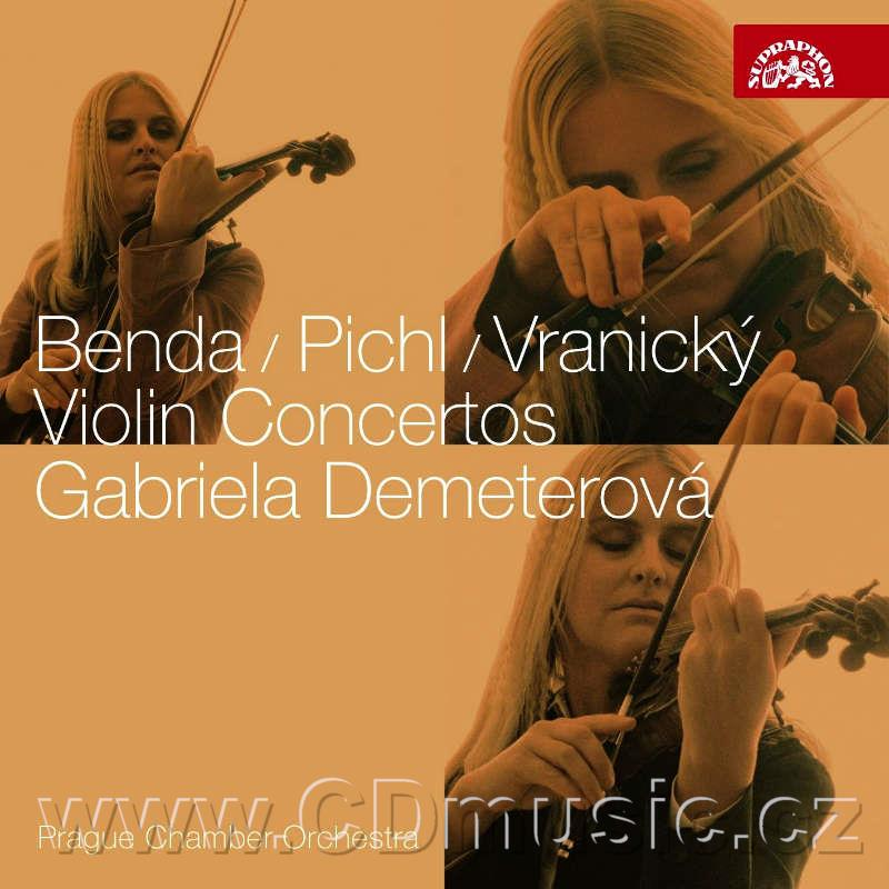 BENDA F. CONCERTO FOR VIOLIN AND ORCHESTRA IN D MAJ, PICHL V. CONCERTO FOR VIOLIN AND ORC