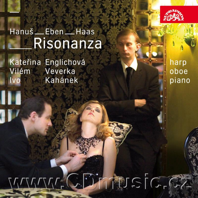 RISONANZA - MODERN CZECH MUSIC FOR OBOE, HARP AND PIANO (HANUŠ J. TRIO CONCERTANTE Op.59b,