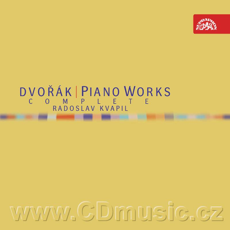 DVOŘÁK A. COMPLETE PIANO WORKS / R.Kvapil piano