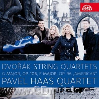DVOŘÁK A. STRING QUARTET No.13 IN G MAJ Op.106, STRING QUARTET No.12 IN F MAJ Op.96 AMERIC