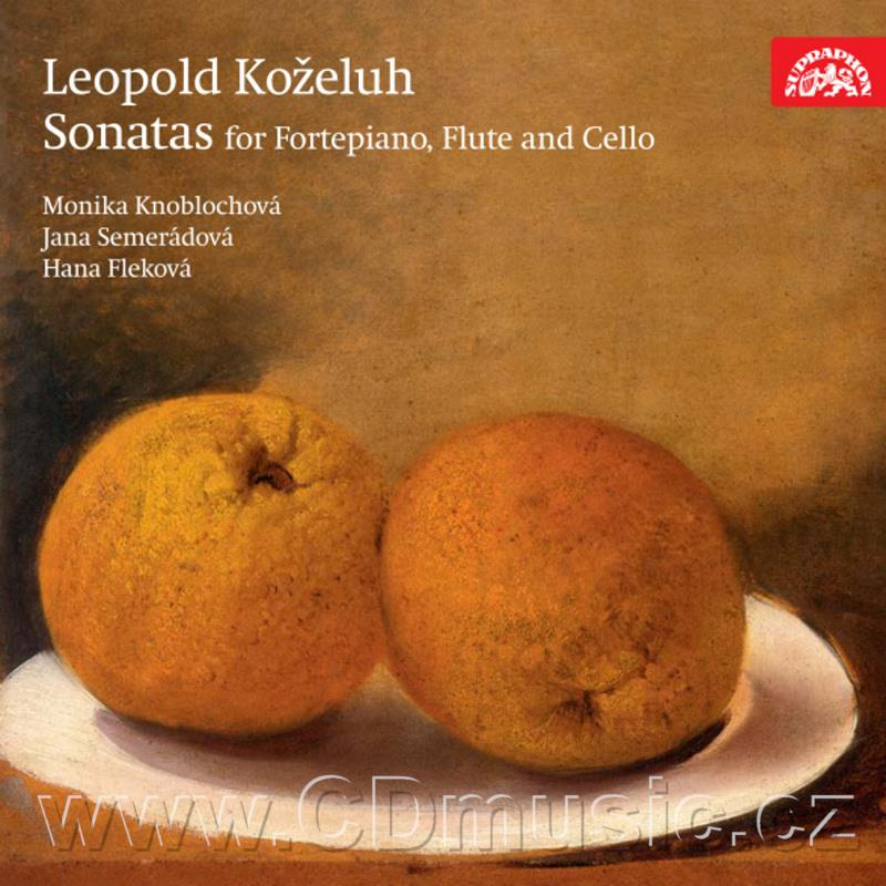 KOŽELUH L. (1747-1818) SONATAS FOR FORTEPIANO WITH ACCOMPANIMENT FOR FLUTE AND VIOLONCELLO