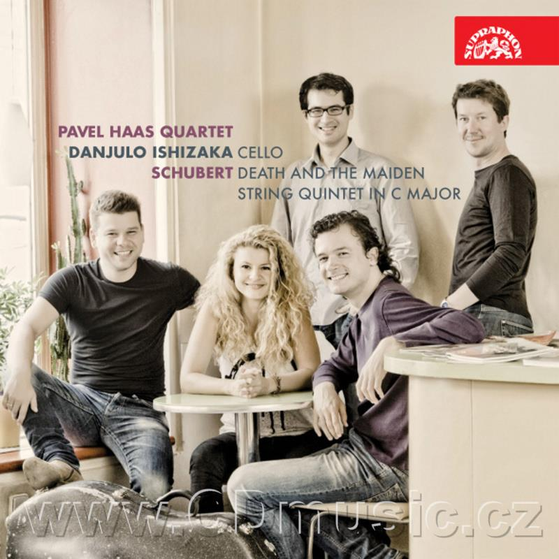 SCHUBERT F. DEATH AND THE MAIDEN, STRING QUINTET IN C MAJOR / Pavel Haas Quartet, D.Ishiza