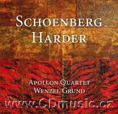 SCHOENBERG A. STRING QUARTET IN D MINOR Op.7, HARDER A. JAZZ SUITE FOR CLARINET AND STRING