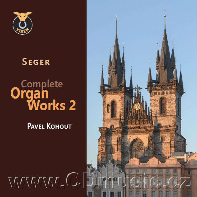SEGER J.N.F. (1716-1782) COMPLETE ORGAN WORKS Vol.2 / P.Kohout organ, Church of Our Lady B