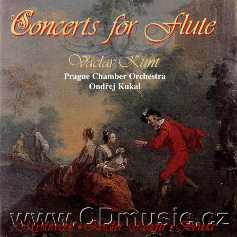 ROSSLER-ROSETTI F.A. (1746-1792) CONCERT IN G MAJOR, BENDA F. (1709-1786) CONCERT IN G MAJ