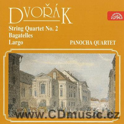 DVOŘÁK A. STRING QUARTET No.2, BAGATELLES Op.47, SERENADE (Largo) FOR FLUTE, VIOLIN, VIOLA