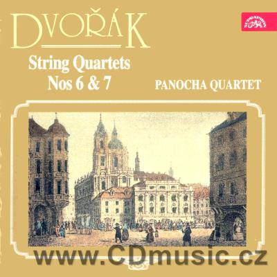 DVOŘÁK A. STRING QUARTETS Nos.6, 7, GAVOTTE FOR THREE VIOLINS, ANDANTE APPASSIONATO / Pano