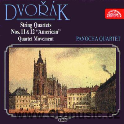 DVOŘÁK A. STRING QUARTET No.11 Op.61, QUARTET MOVEMENT, STRING QUARTET No.12 American Op.9