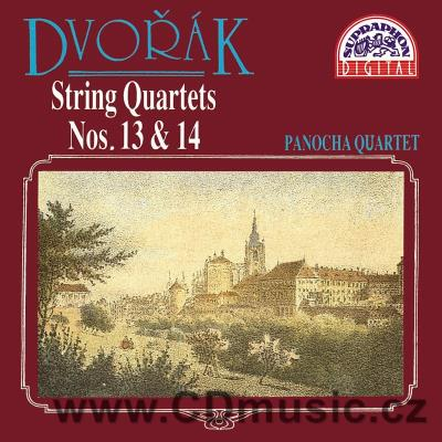 DVOŘÁK A. STRING QUARTET No.13 Op.106, STRING QUARTET No.14 Op.105 / Panocha Quartet