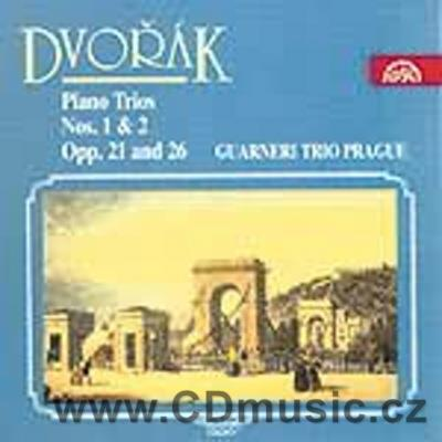 DVOŘÁK A. PIANO TRIO No.1 Op.21, PIANO TRIO No.2 Op.26 / Guarneri Trio Prague (Č.Pavlík, M
