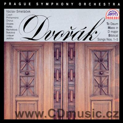DVOŘÁK A. MASS IN D MAJOR Op.86 orch.version, TE DEUM Op.103, BIBLICAL SONGS 1-5 / M.H.Oli