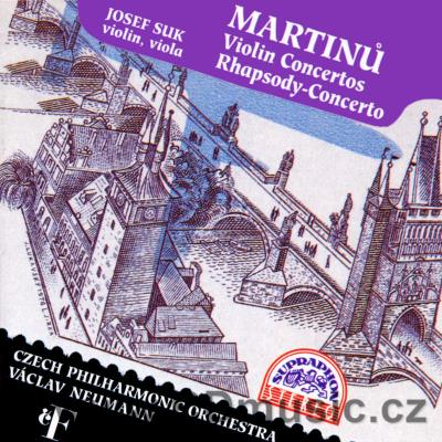 MARTINŮ B. CONCERTOS FOR VIOLIN Nos.1,2 H. 226, H. 293, RHAPSODY-CONCERTO FOR VIOLA AND OR
