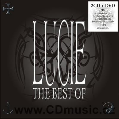 LUCIE - BEST OF (2CD+DVD) (tato kompilace 2009)