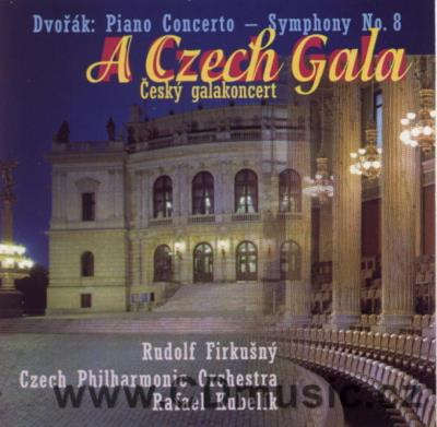 DVOŘÁK A. CONCERTO IN G MINOR FOR PIANO AND ORCHESTRA Op.33, SYMPHONY No.8 Op.88 / R.Firku