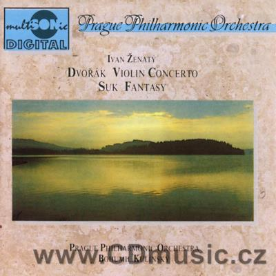 DVOŘÁK A. CONCERTO FOR VIOLIN AND ORCHESTRA Op.53, SUK J. FANTASY FOR VIOLIN AND ORCHESTRA