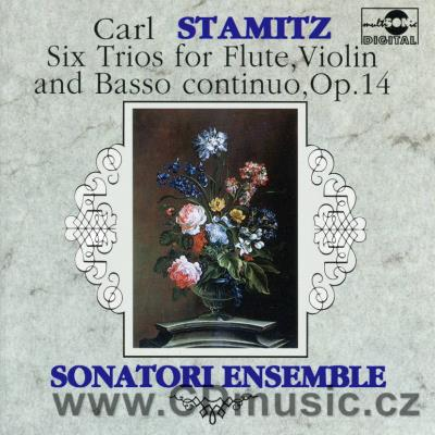 STAMITZ C. (1745-1801) SIX TRIOS FOR FLUTE, VIOLIN AND BASSO CONTINUO / Sonatori Ensemble