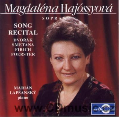 FIBICH Z. FIVE SONGS, SMETANA B. EVENING SONGS, DVOŘÁK A. IN A FOLK TONE... / M.Hájossyová