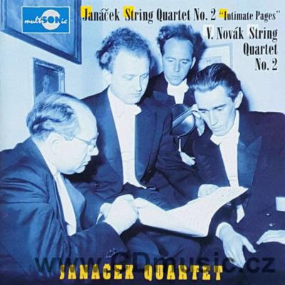 JANÁČEK L. STRING QUARTET No.2 INTIMATE LETTERS, NOVÁK V. STRING QUARTET No.2 Op.35