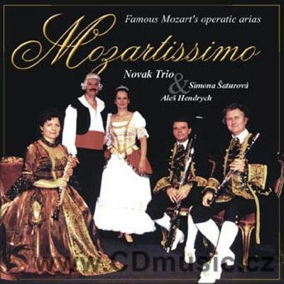 ŠATUROVÁ S. & HENDRYCH A. - MOZART OPERA ARIAS (FIGARO, DON GIOVANNI, MAGIC FLUTE)