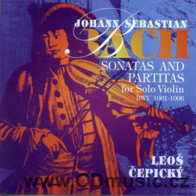 BACH J.S. SONATAS AND PARTITAS FOR SOLO VIOLIN - SONATA No.1, PARTITA No.1, SONATA No.2, P