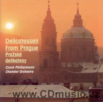 DELICATESSEN FROM PRAGUE (DVOŘÁK A. VALSE, HUMORESQUE, BACH J.S. AIR, MOZART W.A. ...)
