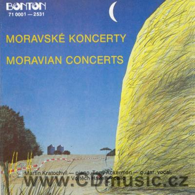 MORAVIAN CONCERTS (live concert) / M.Kratochvíl piano, V.Havel cello, T.Ackerman guitar