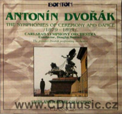 DVOŘÁK A. CEREMONIAL MARCH Op.54, LEGENDS FOR ORCHESTRA selection, SLAVONIC DANCES Op.72